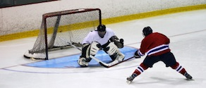 iSOG player on goalie